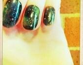 20 Nebula Stick on Nails
