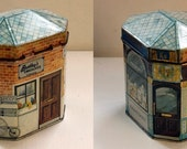 Collectible Vintage Tin from Bentley's of London (Evan's Dairy)