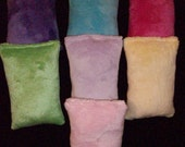 3 Handcrafted Soft Minky Fur Catnip Pillow Toys - Cat Approved