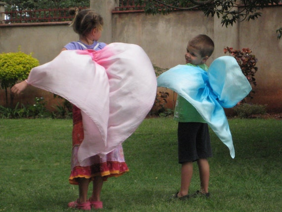 2 Sets of Silk Butterfly Wings CUSTOM ORDER for Toni