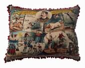 Victoriana Circus Cushion