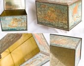 VINTAGE Viking Treasure box, toy box