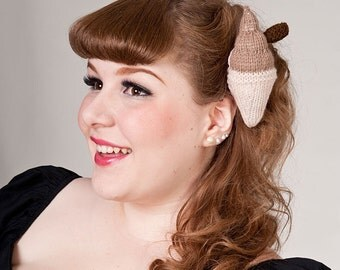 Now, Voyager Flake Ice Cream Hair Clip-Choc