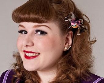 Now, Voyager Lil Hummingbird Hair Clip-Purple