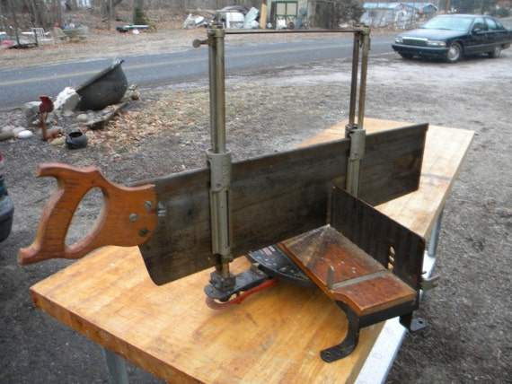 Good Shape Vintage Stanley Tool Miter Box