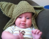 Yoda Hat - child or adult