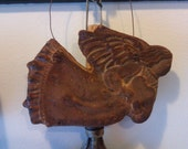 Primitive Blackened Folk Angel Cupboard Hang Needful - CPLG, PAFA, ab4b, wrr, OFG