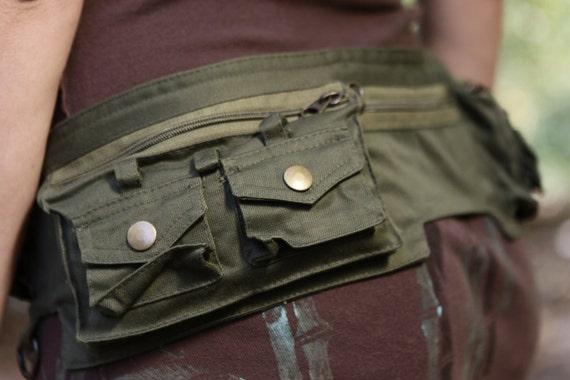 Fanny Pack - Hip Bag - Hip Belt - Utility Hip Belt  - High Quality - Designer Pocket Belt Bag  [Festival.Travel.Concert]
