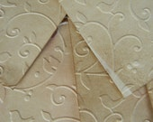 Vintage Look Stained Embossed Birds and Vines Tags with FREE Embellishments