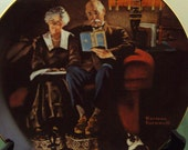 Evening Ease by Norman Rockwell  4th plate in the Light Campaign collection.