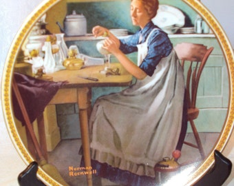 Working in the Kitchen Rockwell's Rediscovered Women 9th issue