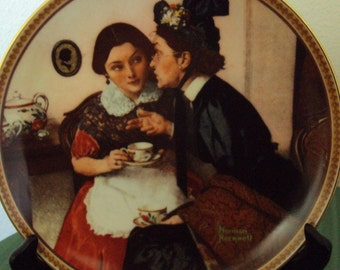 Gossiping in the Alcove by Norman Rockwell