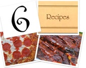 6 Recipe Pack