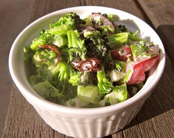 Lite Broccoli Salad, Instant Download!