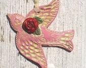 Flying Rose Dove