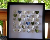 Personalized Wedding Heart Frame