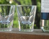 Anchor Shot Glass Pair