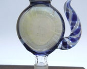 14mm - Silver fumed blow in white windows - Montage - Latty horn - LecaGlass
