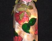 Rose Wine Bottle LIght