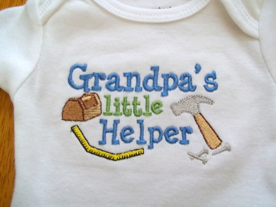Grandpa Baby Outfit Grandpa Baby Bodysuit Grandpa Baby: Your Place To Buy And Sell All Things Handmade