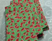 Cloth Napkin Dinner Lunch Breakfast Picnic Watermelon Green Pink Red Cotton 17x17 (4) Napkins Dining Eat