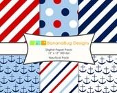 Digital Paper Pack - Nautical Pack