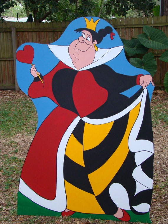 Queen of Hearts (Alice in Wonderland) Party Prop and Art or Set Decoration