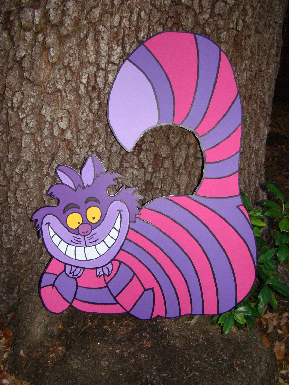 Alice In Wonderland Decoration Cheshire Cat Alice In Wonderland Party Prop And Art