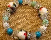 Custom Penguin Kandi Bracelet