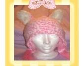 Pink Kitty Hat