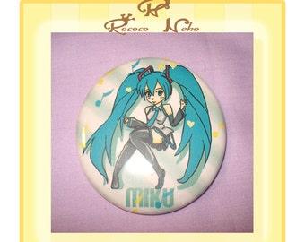 Hatsune Miku button
