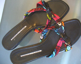 Donald J Pliner Summer Slides Made in Spain 8M