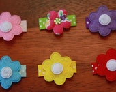 Baby and Todler snap clips - Tiny garden - great starter set