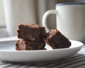 Wheat Free Gooey Double Chocolate Chip Brownies Box of 6