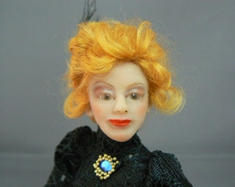 Dollhouse Lady 1 : 12  OOAK  by Fairytaledreams