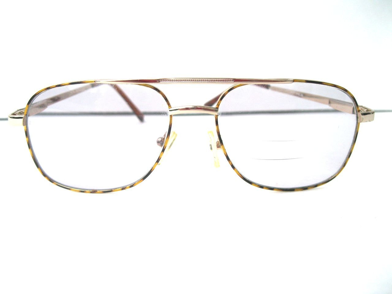 Eyeglass Frames Wire Rim : Vintage Aviator Style Wire Rimmed Eyeglasses by ...