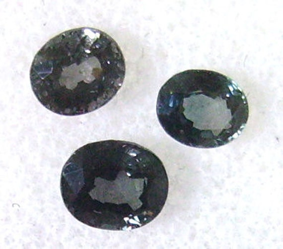Mogok Spinel Blue/Gray Lot 1.80cttw