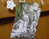 craZydaiZy card photo wedding garland white 12 crochet daizies hemp mantel decorations party display handmade soft country