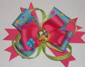 Boutique layer Hair Bow