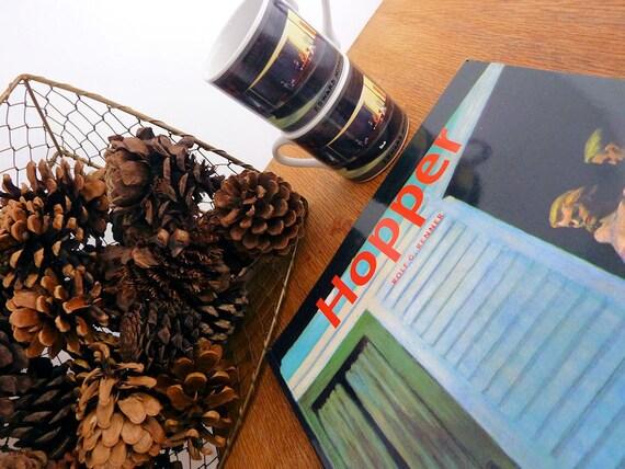 Edward Hopper Gift Set, Art Book & Espresso Cups, American Realism