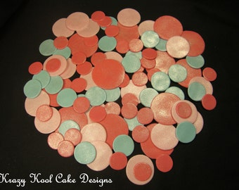 Fondant Polka Dots For Decorating Cakes