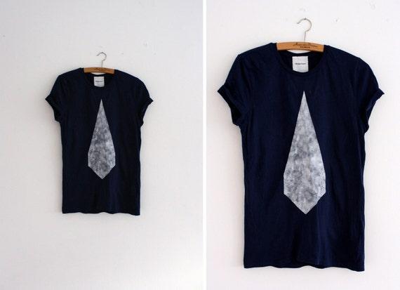 T-shirt // navy / white  // diamond
