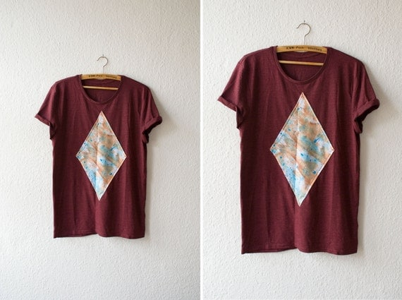 Shirt - wine red / burgundy - holocene
