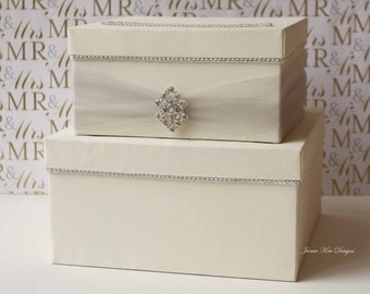 Wedding card box,  Wedding Card Holder ,Wedding Money Box - Custom Made to Order
