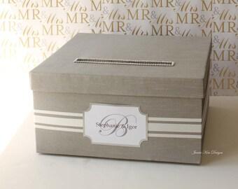 Custom Wedding Card Box Money Box Card Holder