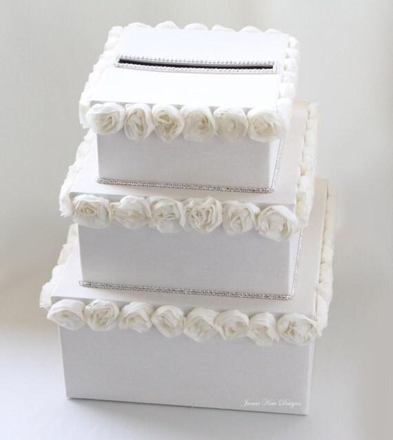 Items similar to Wedding Money Box Card Box Gift Card Holder - Custom ...
