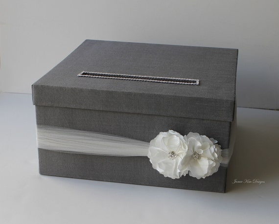 Wedding Card Box Money Holder Gift Card Box - (Reserved)