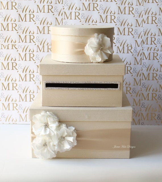 Wedding Gifts Boxes: Wedding Card Box Money Box Gift Card Holder Custom Made To