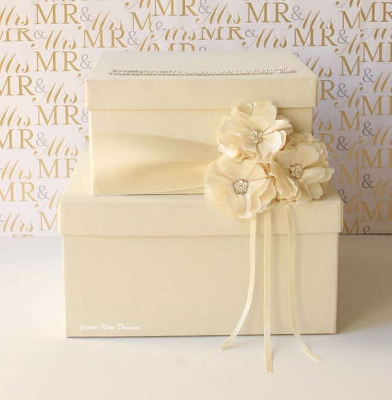 Wedding Card Box, Money Box, Money Card Box - Custom Card Box