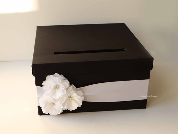 Wedding Gift Card Box Money Box Card Box - Custom Made to Order (choose your own colors)